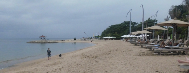 it's sanur beach!