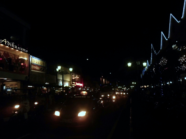 Jogja in the night