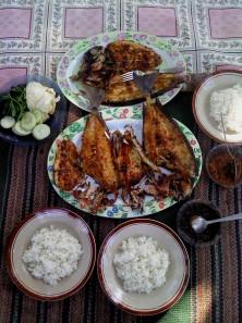 our lunch. hmm yummy