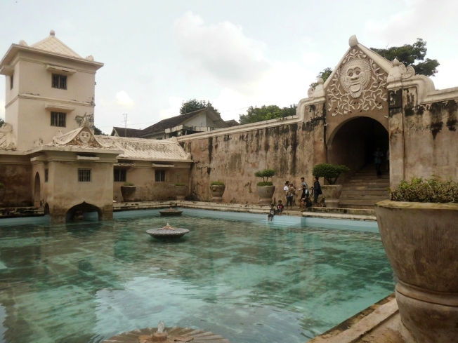 bathing area or Umbul Pasiraman