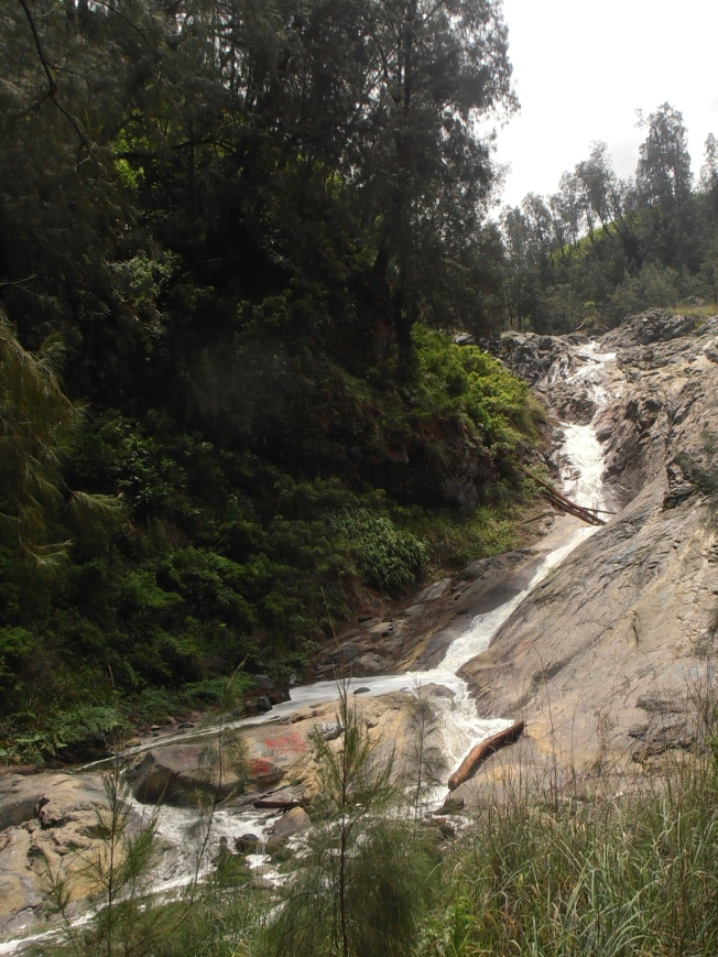 kawah putih waterfall
