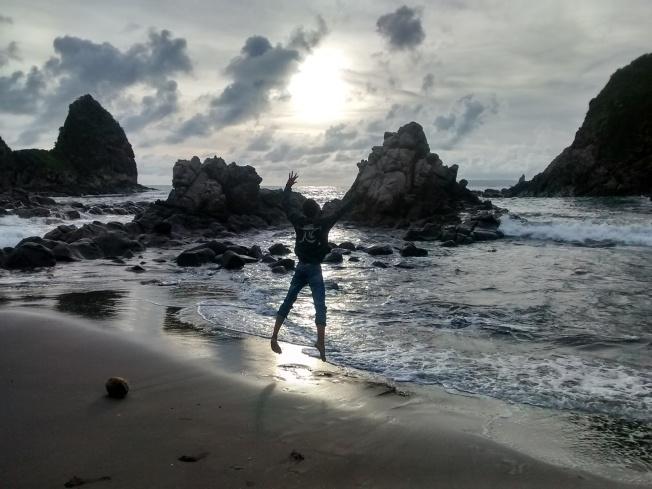 Sunet at Payangan beach